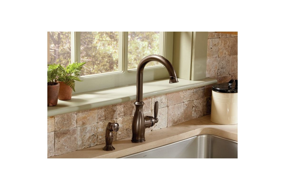 Faucet.com | 7735SRS in Spot Resist Stainless by Moen