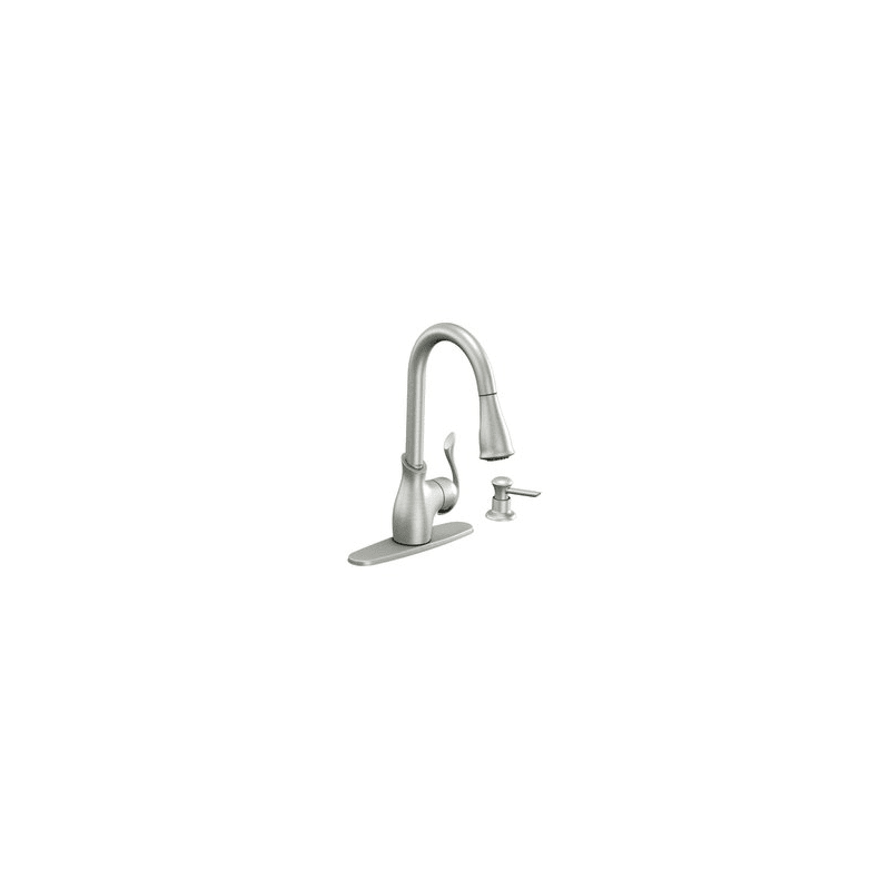 faucet com ca87006csl in classic stainless by moen