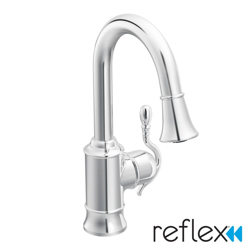Faucet.com | S6208C in Chrome by Moen