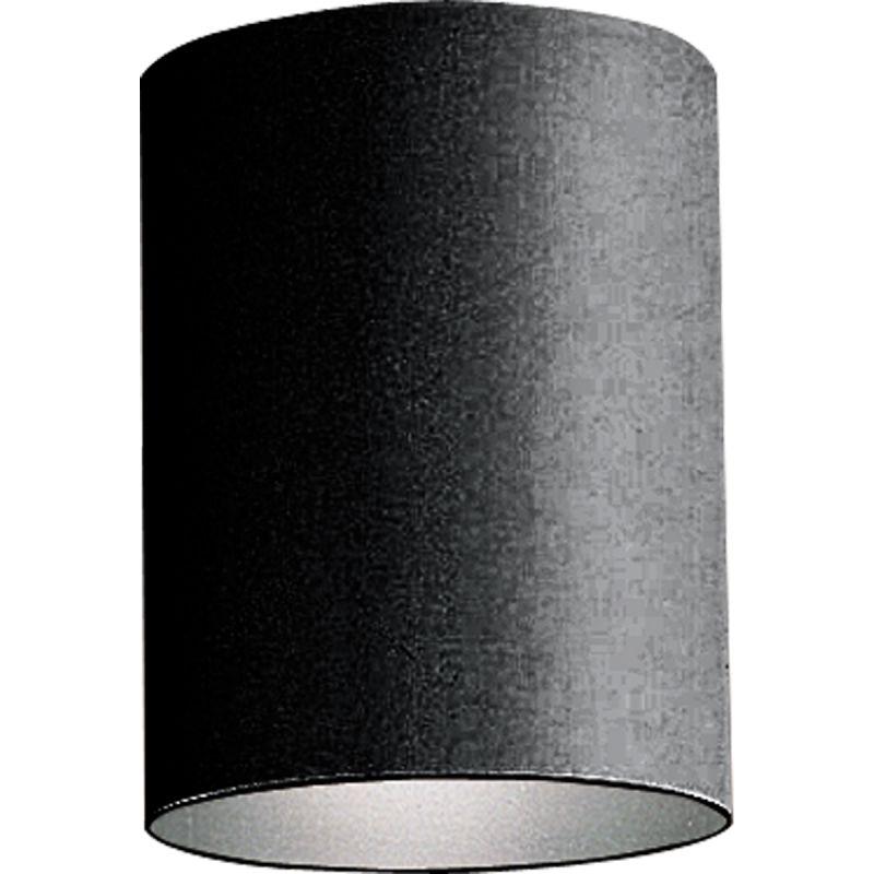 Progress Lighting P5774 31 Black Cylinder 1 Light Flush