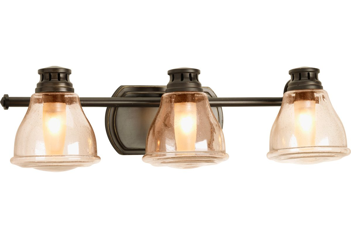 Progress Lighting Archie Collection 2 Light Antique Nickel: Progress Lighting P2812-20WB Antique Bronze Academy 3