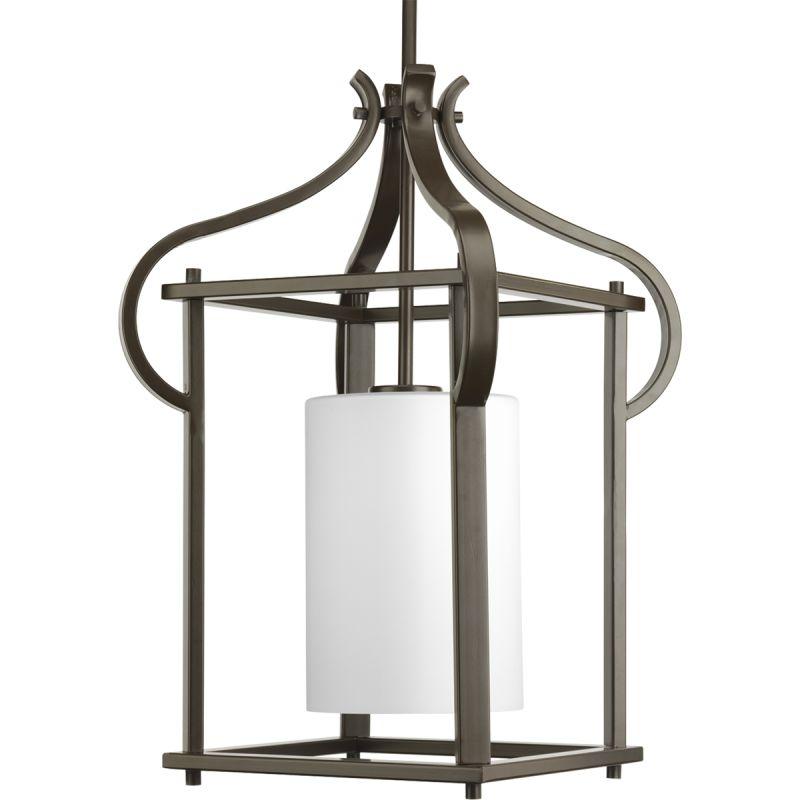 Progress Lighting P6508-20 Antique Bronze Imperial Single-Light Medium Outdoor Hanging Lantern ...