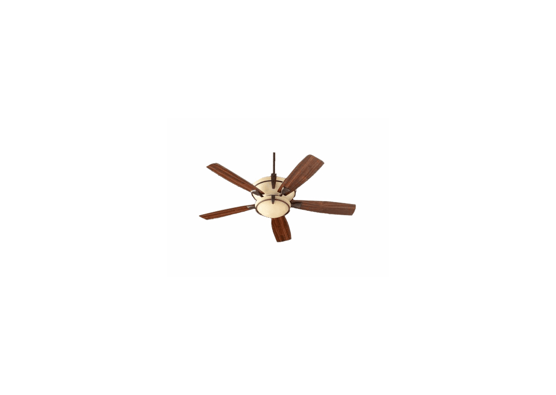 Quorum International 61525-986 Oiled Bronze Mendocino 52u0026quot; 5 Blade Indoor Ceiling Fan ...