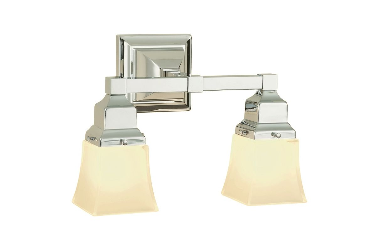 robern mllwsbndd brushed nickel bathroom light