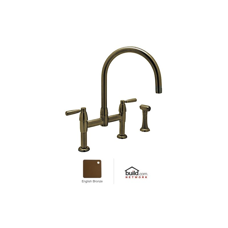 Rohl U 4273ls Eb 2 English Bronze Perrin And Rowe Bridge