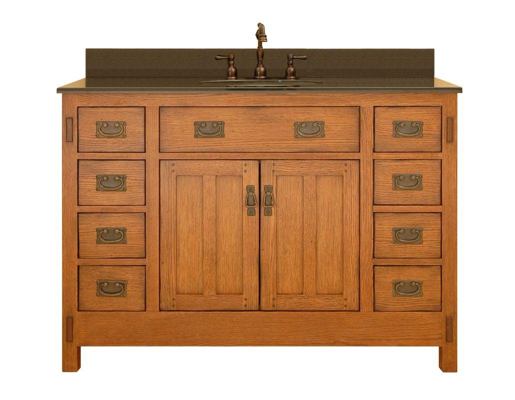 Ac4821d in rustic oak by sagehill designs for Sagehill designs bathroom vanity
