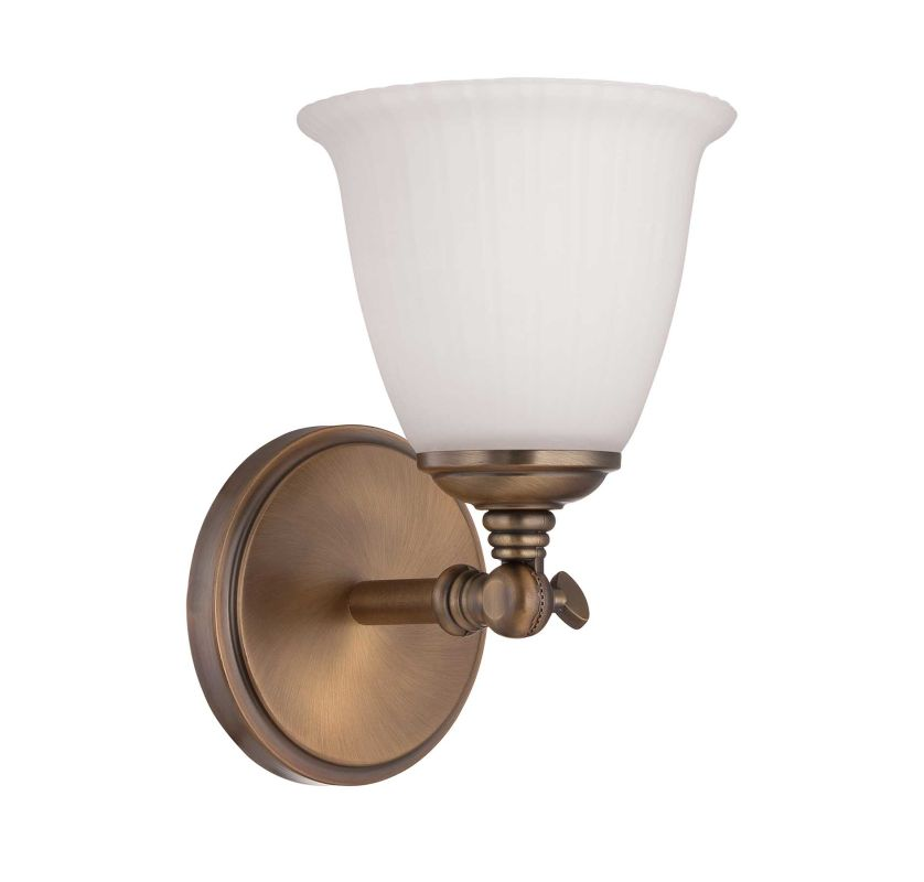Savoy House 8-6830-1-178 Heirloom Brass Bradford One Light