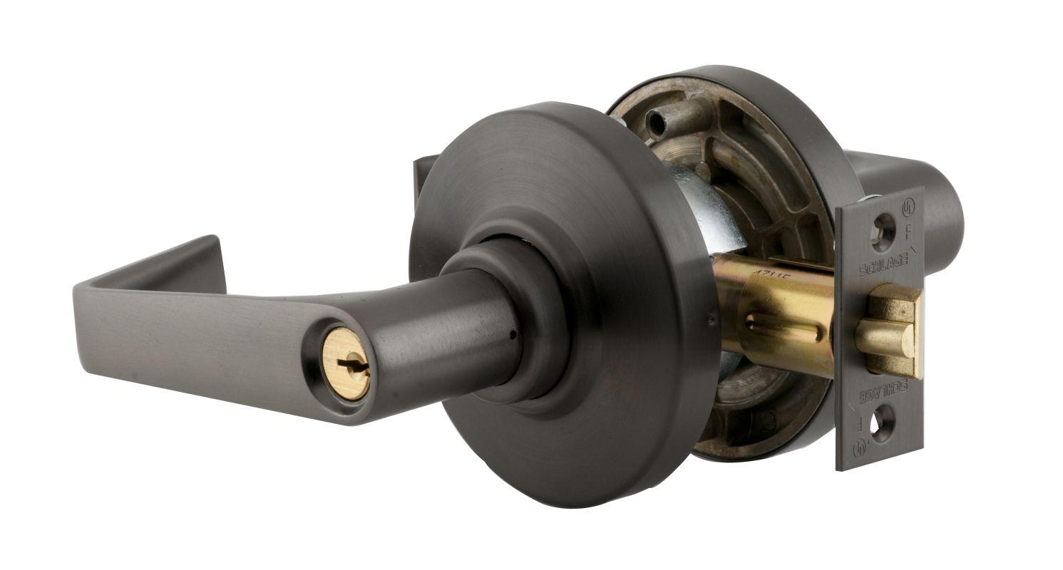 Schlage Al53pdsat613 Oil Rubbed Bronze Saturn Keyed