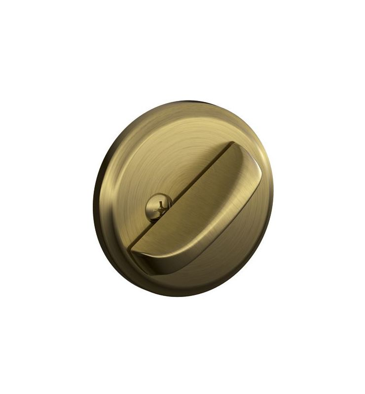 Schlage B80609 Antique Brass Single Sided Residential