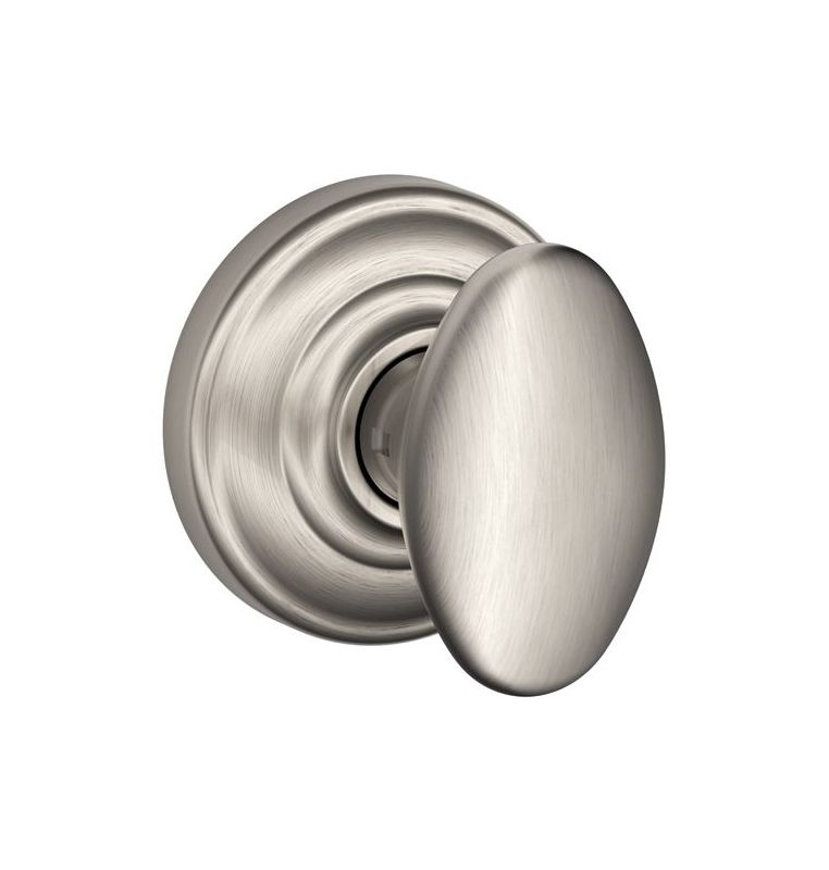 Schlage F10sie619and Satin Nickel Siena Passage Door Knob