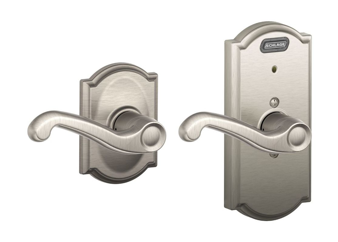 schlage door handle instructions