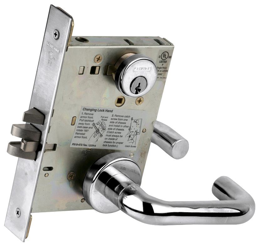 Schlage L9080625 Polished Chrome L Series Commercial Grade
