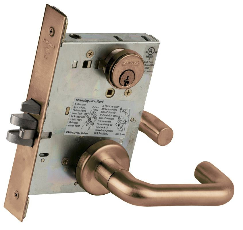 Schlage L9080612 Satin Bronze L Series Commercial Grade 1