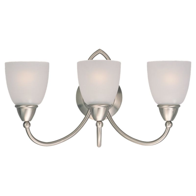 Can Vanity Lights Be Installed Upside Down : Sea Gull Lighting 40075-962 Brushed Nickel Pemberton 3 Light Bathroom Vanity Light ...