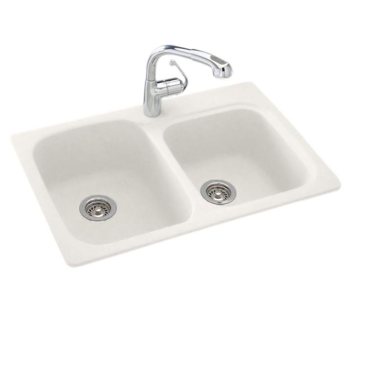 faucet com ks03322db 018 in bisque by swanstone choosing a kitchen sinkage faucet to match bisque appliances