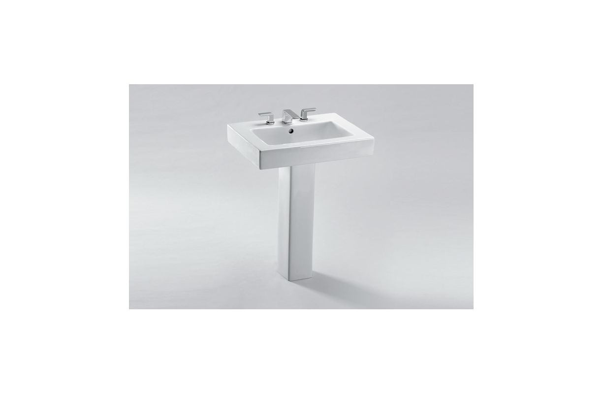 Toto Augusta Pedestal Sink.Faucet Com LT315 8G#01 In Cotton By Toto ...