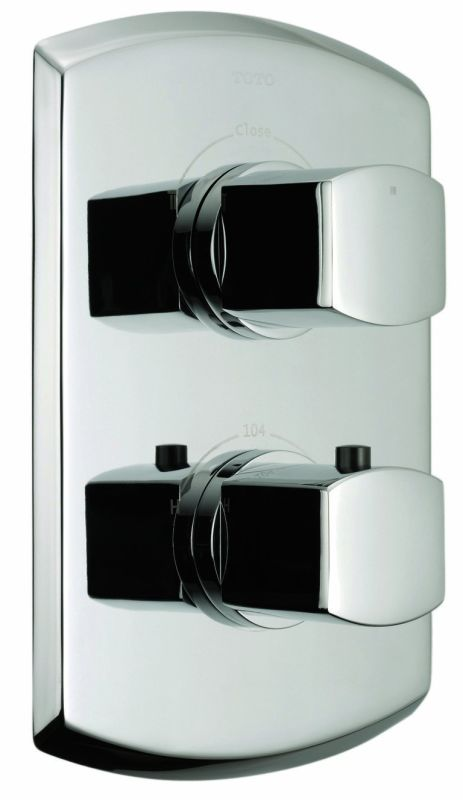 Toto Ts960d Bn Brushed Nickel Double Handle Valve Trim Only From The Soiree Collection