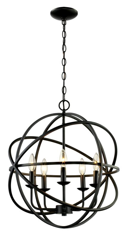trans globe lighting 70655 rob rubbed oil bronze 5 light