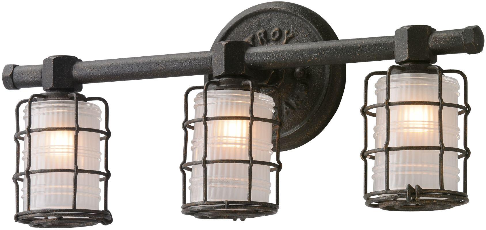 Progress Lighting Archie 3 Light 8 75 In Polished Chrome: Troy Lighting B3843 Vintage Bronze Mercantile 3 Light