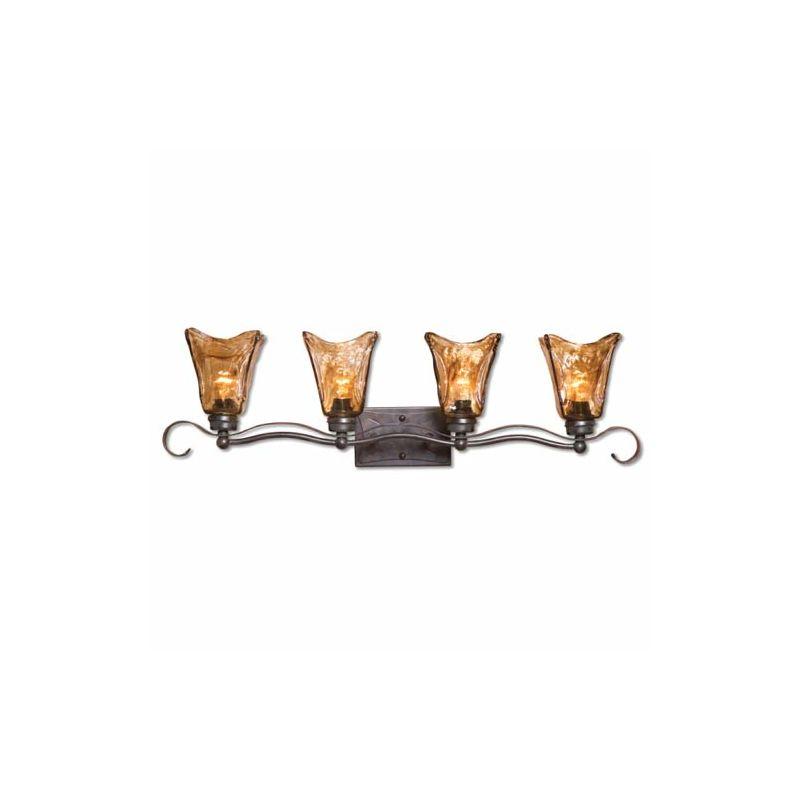 uttermost 22845 oil rubbed bronze vetraio four
