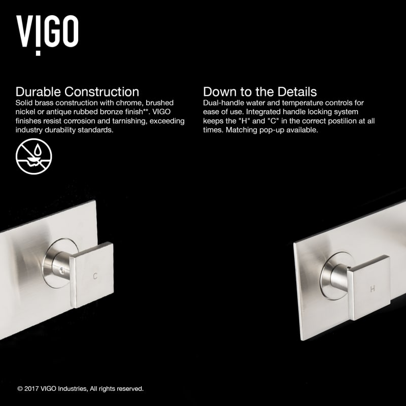 Faucet Com Vg05002ch In Chrome By Vigo