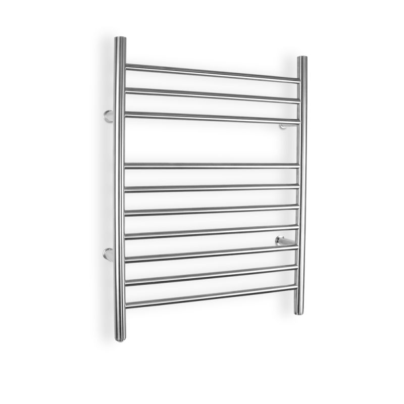 warmlyyours tw f10bs hw ti brushed stainless steel infinity hard wire electric towel warmer. Black Bedroom Furniture Sets. Home Design Ideas