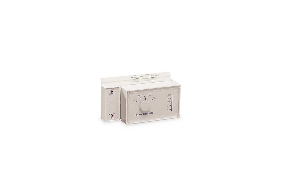 white rodgers heat pump thermostat manual