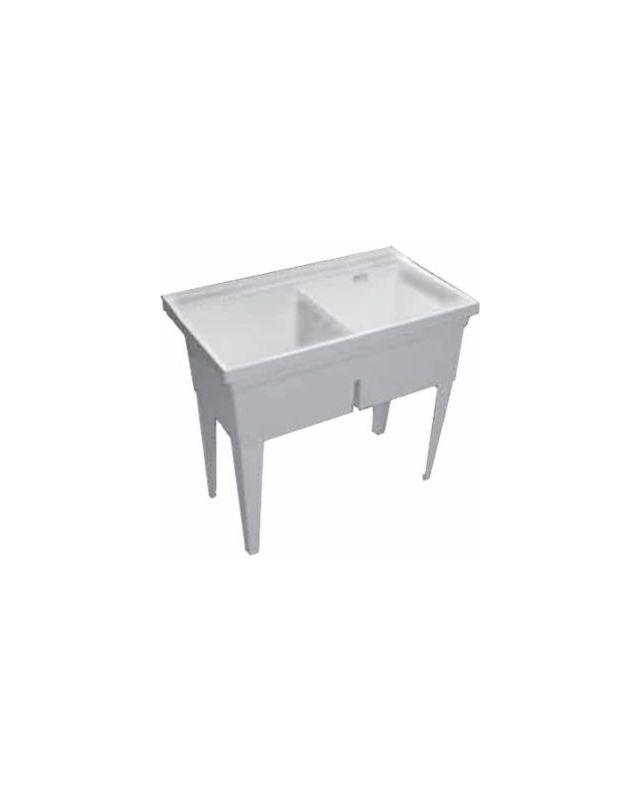 Zurn Ms2623 F Light Gray Double Basin Multi Purpose Sink