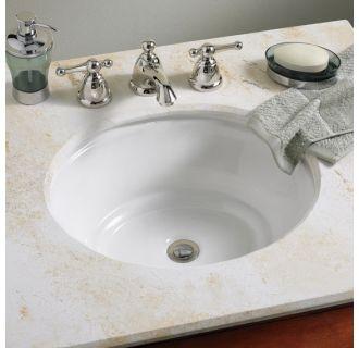 American Standard 0632 000 020 White Tudor 17 Quot Undermount