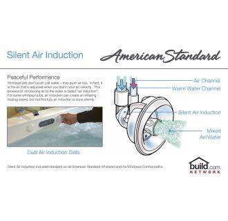 American Standard 2772 018wc 222 Linen Cadet 60 Quot Acrylic