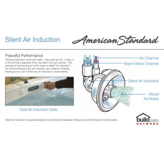American Standard 7236 Vc 020 White Evolution 72 Quot Acrylic