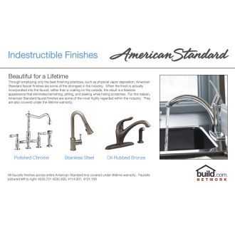 American Standard 8411f Polished Chrome Cadet Kitchen