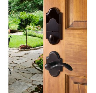 Baldwin 8252402ac1 Distressed Oil Rubbed Bronze Boulder