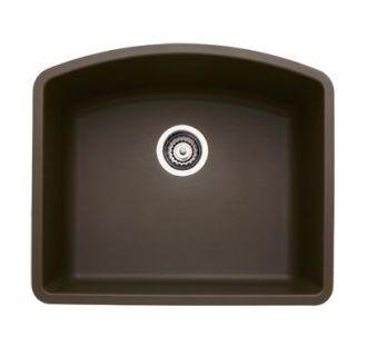 Blanco 440172 Cafe Brown Diamond Single Basin Silgranit Ii