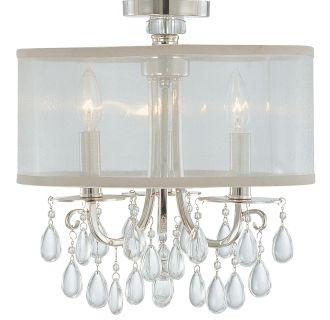 Crystorama Lighting Group 5623 Ab Antique Brass Hampton 3