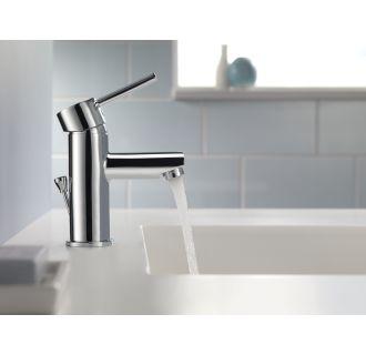 Delta 559lf Pp Chrome Trinsic Single Hole Bathroom Faucet