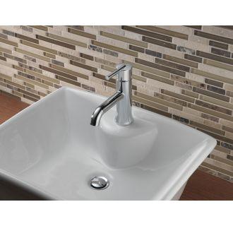 Delta 559lf Tp Chrome Trinsic Single Hole Bathroom Faucet