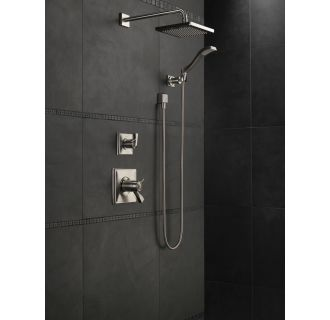 delta 57740 ss brilliance stainless arzo 8 rain shower