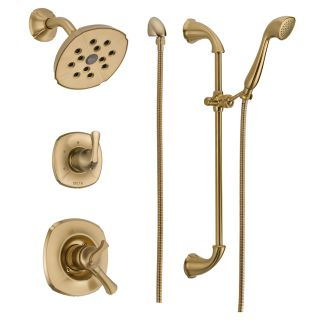 Faucet Com 592 Cz Dst In Champagne Bronze By Delta