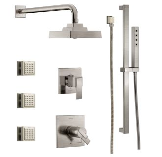 Faucet Com Dss Ara 17t03ss In Brilliance Stainless By Delta