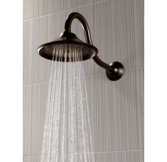 delta rp48686 chrome 7 1 2 rain shower head with touch
