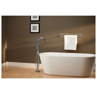 Delta T4759 Fl R4700 Fl Chrome Free Standing Tub Filler