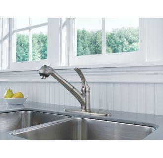Delta B4310lf Sdisp Chrome Foundations Pull Out Kitchen