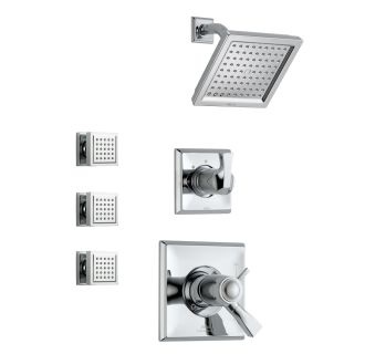 Delta Dryden Tempassure Shower Package Ch Chrome With