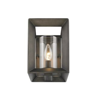 Golden Lighting 2073 1w Gmt Gunmetal Bronze Smyth  Wide Wall