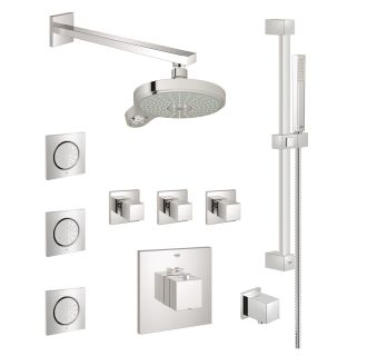 Faucet Com Gss Eurocube Cth 08 000 In Starlight Chrome
