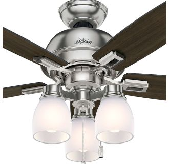 Hunter 52230 Brushed Nickel 44 Quot Ceiling Fan 5 Reversible