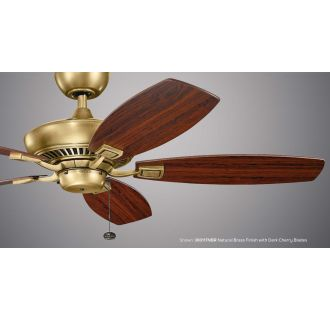 Kichler 300117wh White 52 Quot Indoor Ceiling Fan With Blades