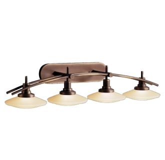 Kichler 6464ni Brushed Nickel Structures 4 Light 40 Quot Wide