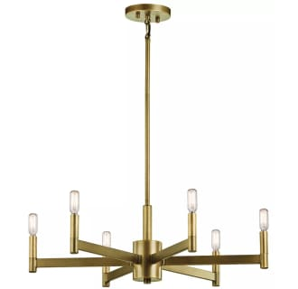Kichler Nbr Natural Brass Erzo  Tier Chandelier Lightingdirect Com